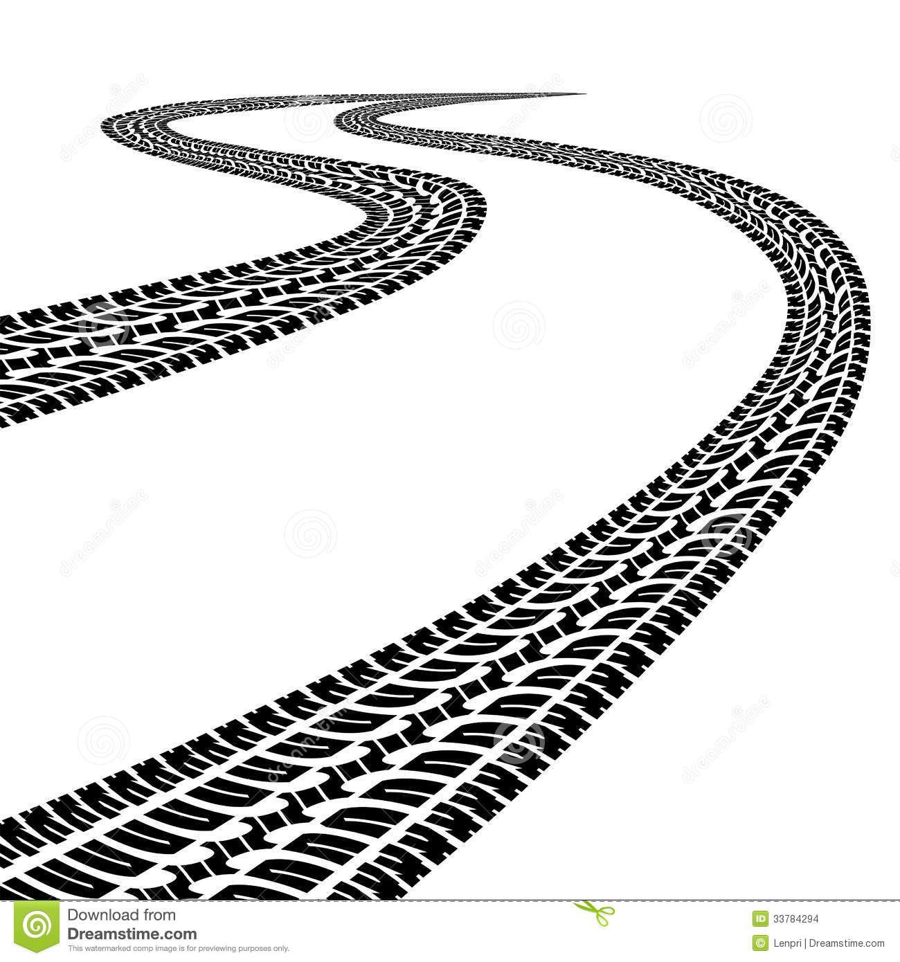 1300x1390 Road Black And White Clipart