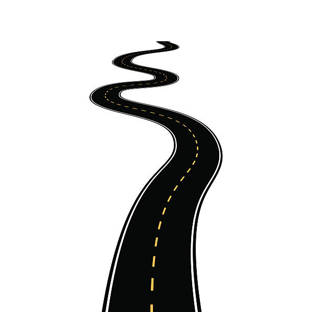 612x612 Road clipart illustration