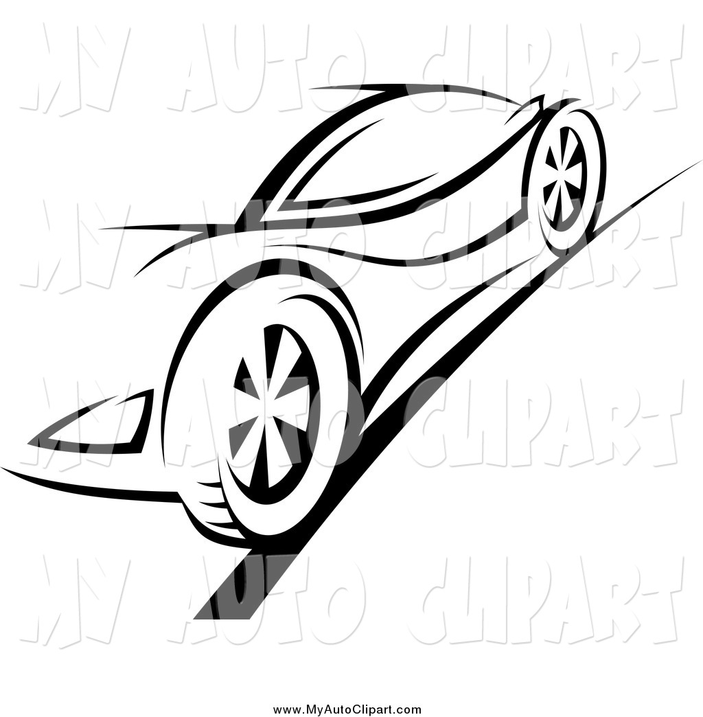 1024x1044 Royalty Free Black and White Stock Auto Designs