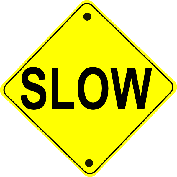 600x600 Free Road Sign Clipart Image