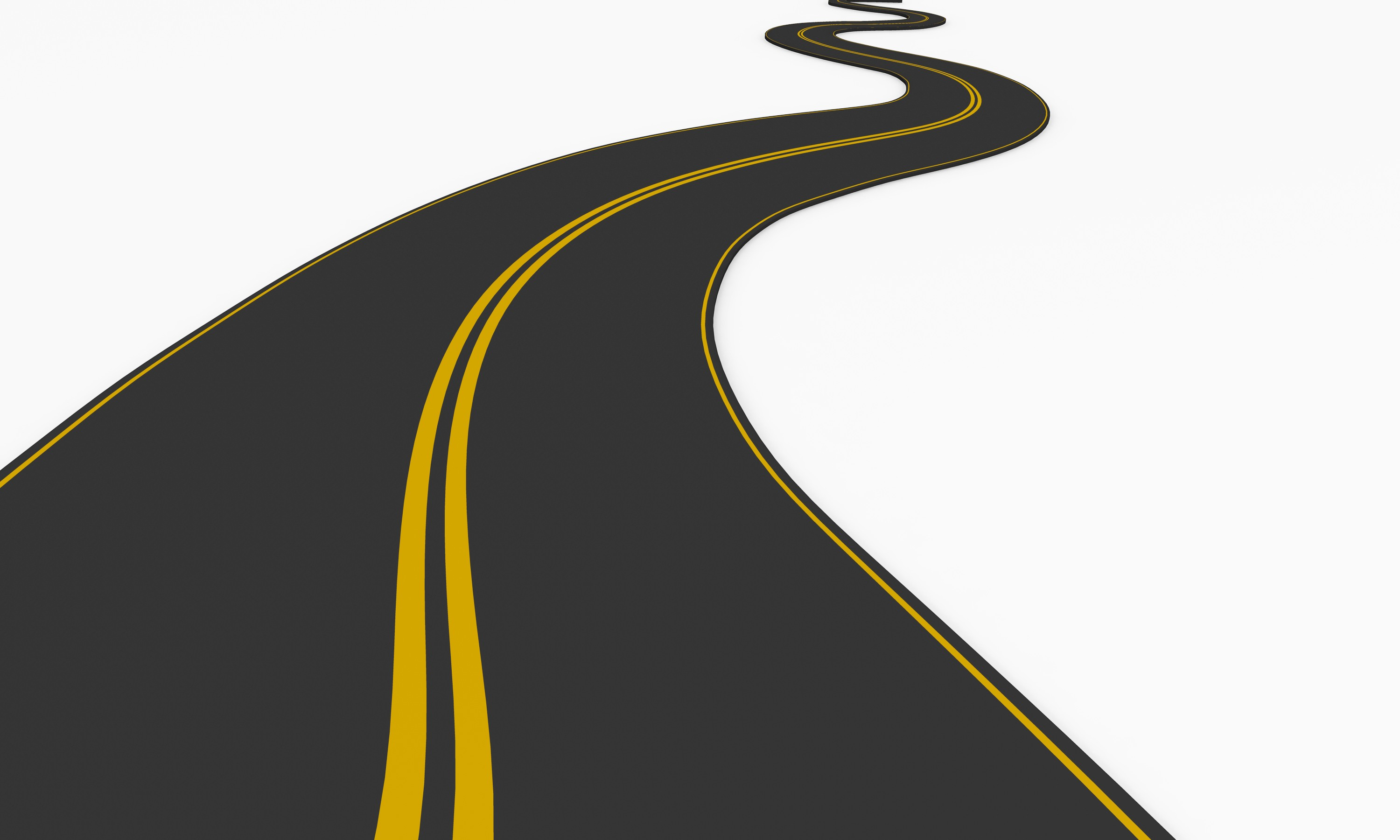 3000x1800 Path clipart road map