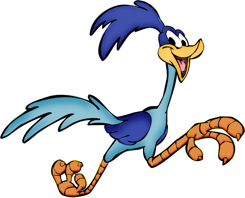 855x694 Road runner clipart