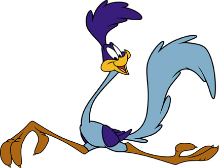 432x333 The Roadrunner Road runner, Cartoon and Looney tunes