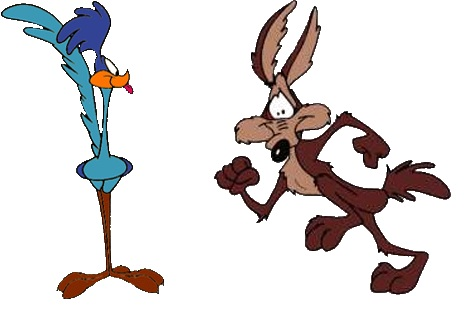 468x316 Wile E. Coyote and the Road Runner Warner Bros Wiki FANDOM