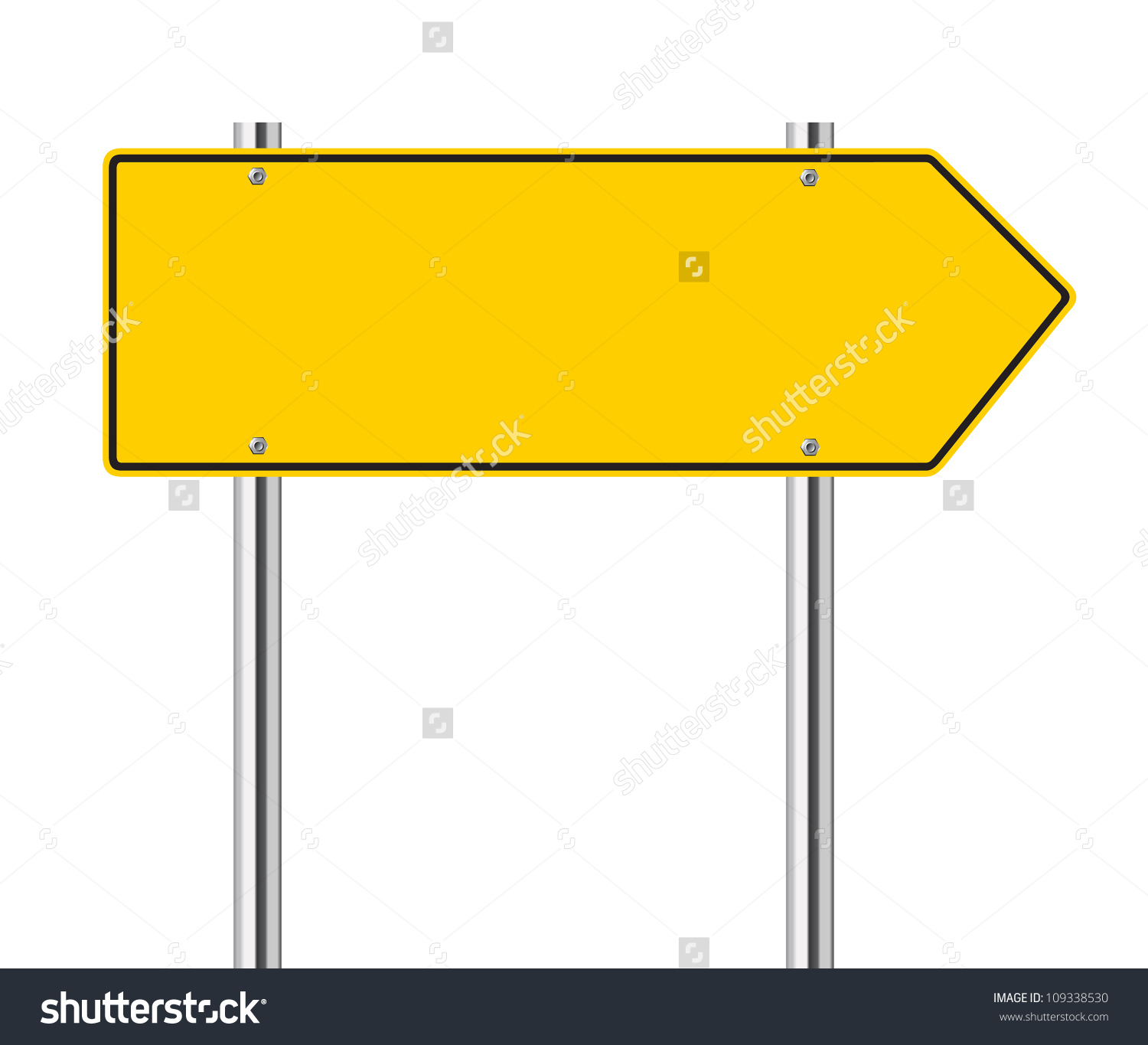 1500x1365 Blank Road Sign Clip Art position maps symbols in a flowchart