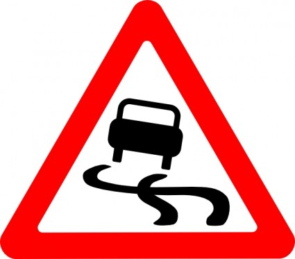 425x373 Roadsigns Clipart