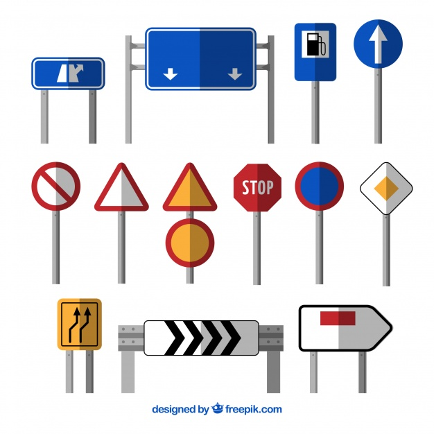 626x626 Traffic Signs Vectors, Photos and PSD files Free Download