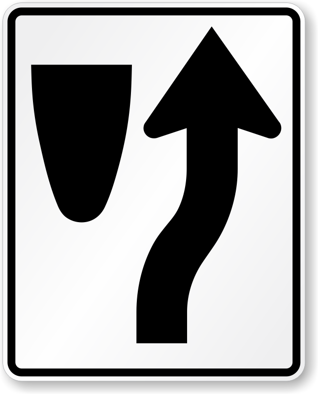 646x800 Keep Right Symbol Sign