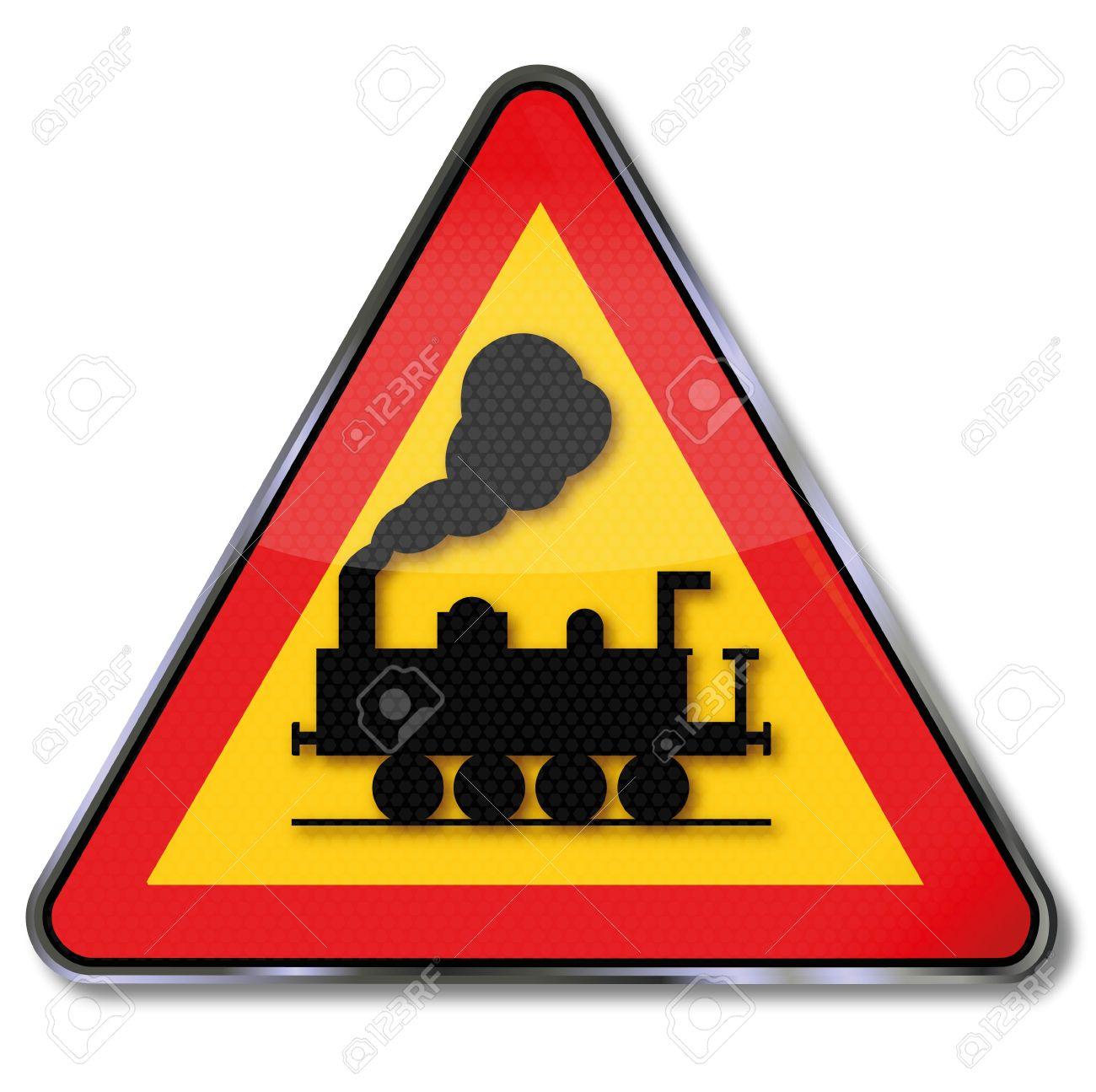 1300x1295 Railroad clipart traffic sign