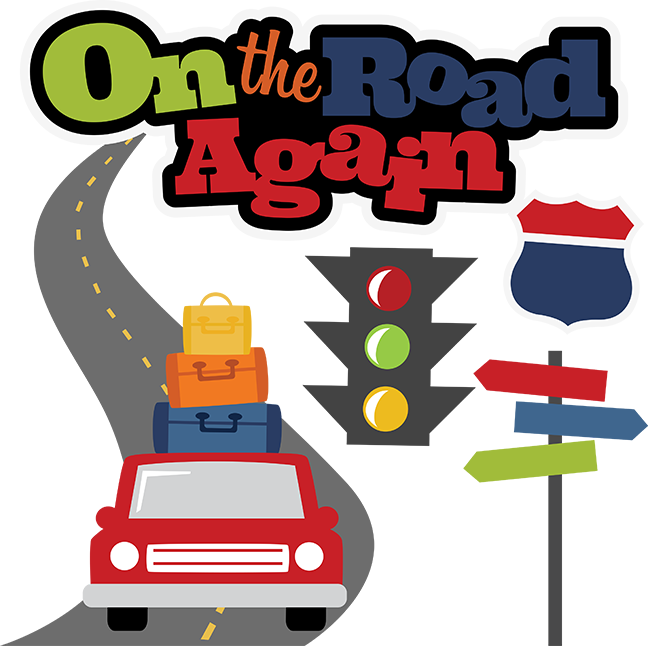 648x646 On The Road Again Svg Scrapbook File Vacation Svg Files Road Trip