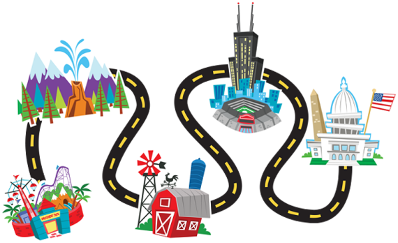 570x348 Road Trip Clip Art