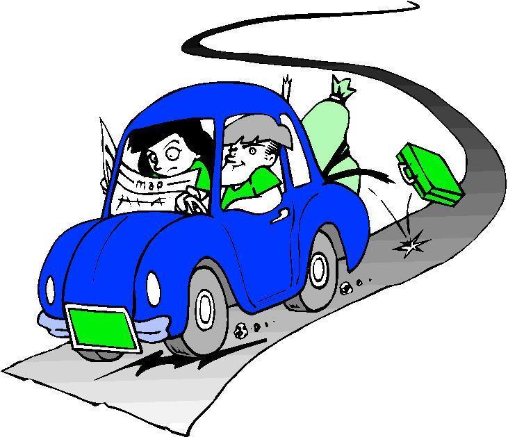 731x629 Blue Car Road Trip Clipart