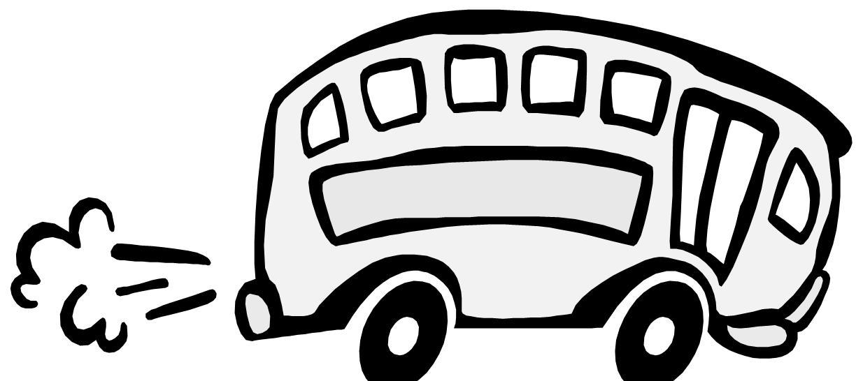 1224x546 Bus Clipart Road Trip