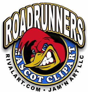 306x320 Roadrunner Clipart