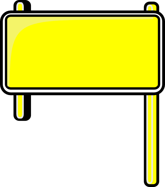 528x596 Highway Sign Clip Art