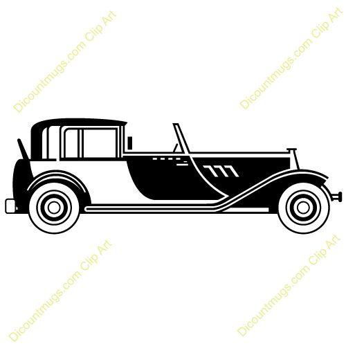 500x500 Car Clipart Roaring 20