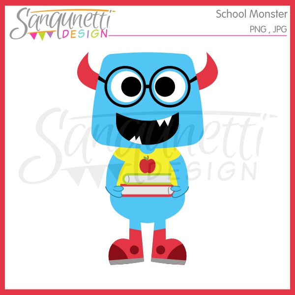 600x600 Sanqunetti Design School Monster Clipart