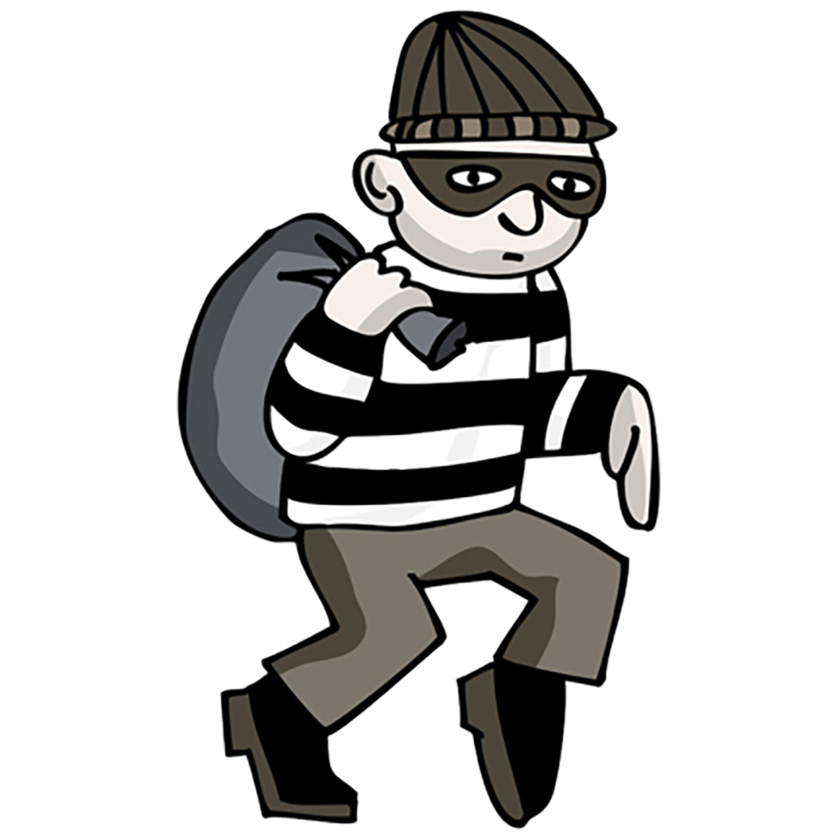 Free Download Best Robbers Clipart On