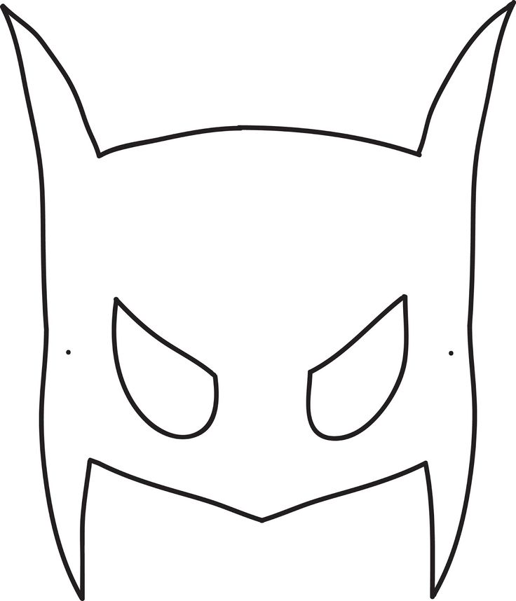 736x858 Best Batman Mask Template Ideas Batman Mask