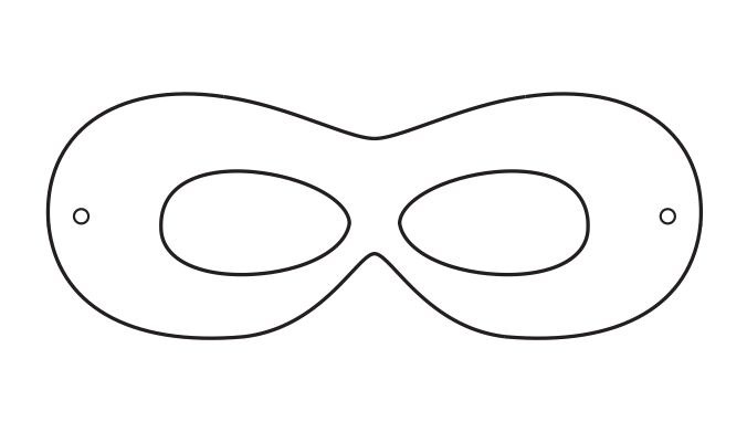 676x382 10 Best Images Of Robin Mask Template