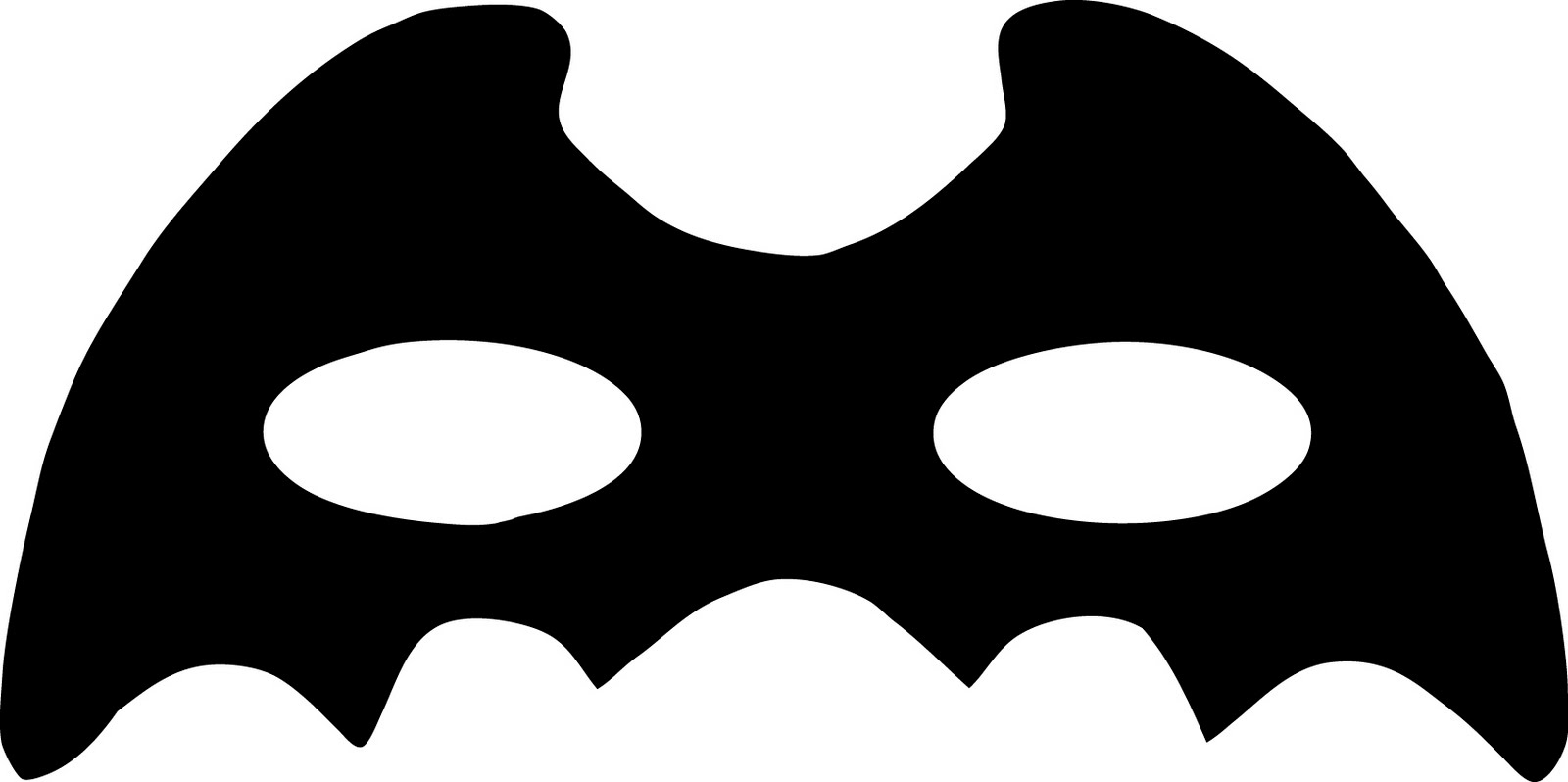 1600x798 Superhero Mask Clipart