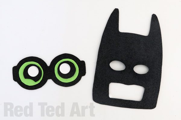 600x400 The Lego Batman Movie Mask Diy