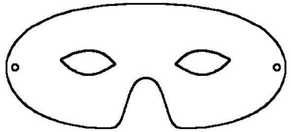 590x268 29 Images Of Basic Mask Template  Mask Templates For Adults