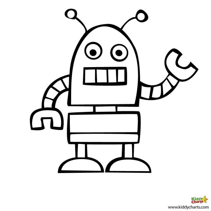 689x689 Cool Robot Coloring Pages Page Robot Coloring Pages S