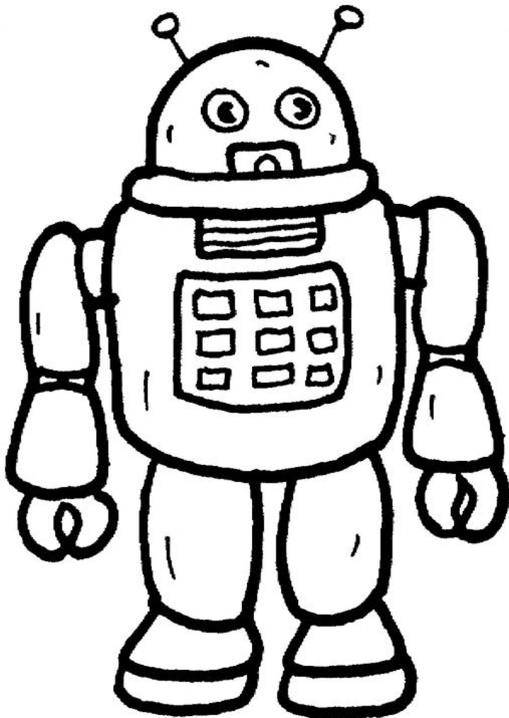 1024x1444 Download Coloring Pages. Robot Coloring Pages Robot Coloring