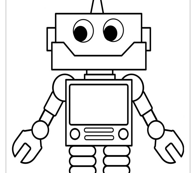 678x600 Fresh Robot Coloring Page 75 On Coloring Pages For Kids Online