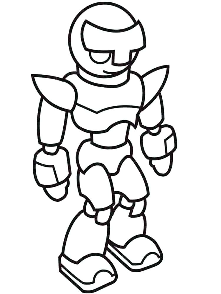 Robot Coloring Pages | Free download best Robot Coloring