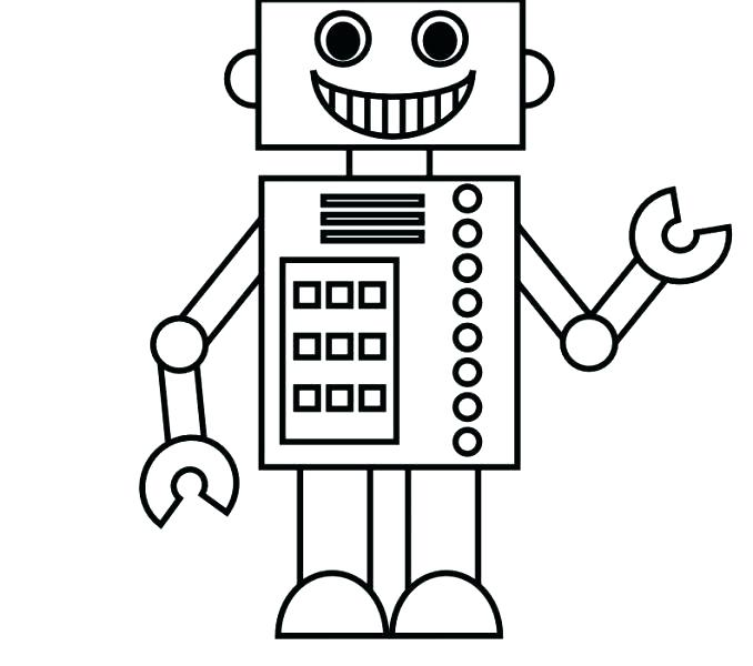 678x600 Robot Coloring Pages Pdf Inspirational Page On Free Kids