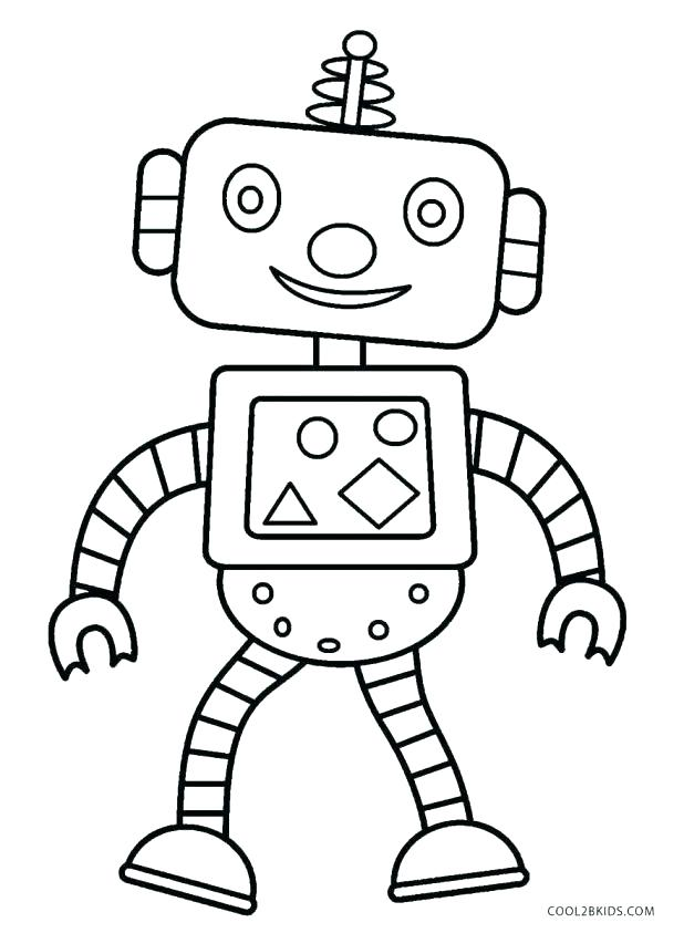 Robot Coloring Pages Free Download Best Robot Coloring Pages On