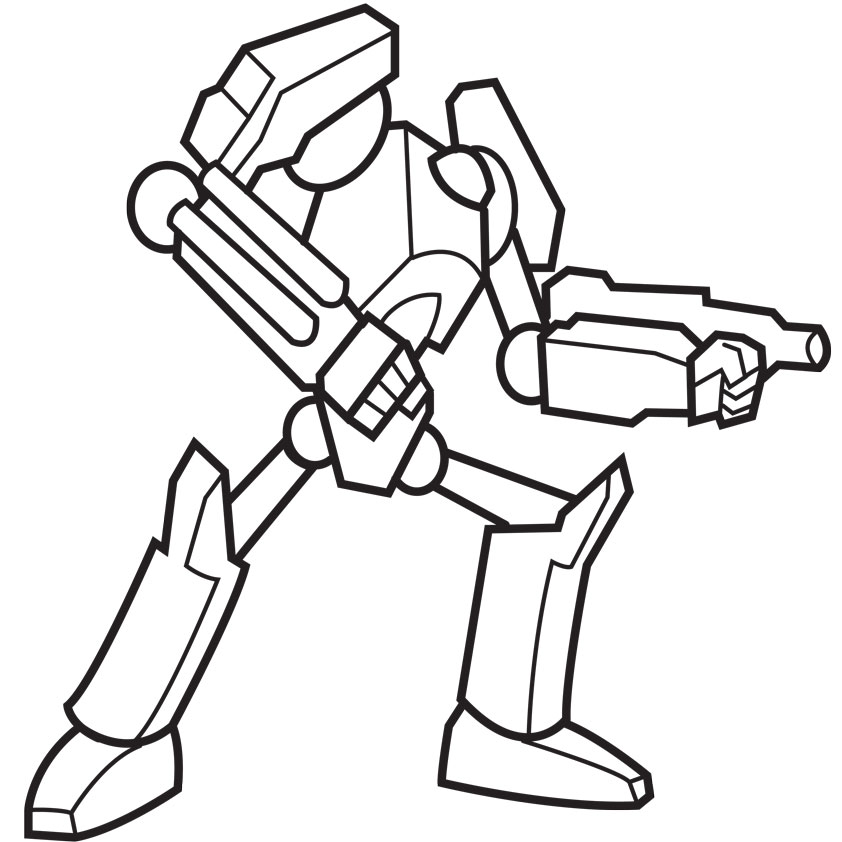 842x842 Robot Coloring Pages Free To Print