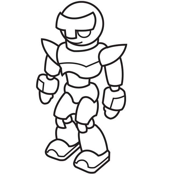 600x600 Strong Fighting Robot Coloring Pages Best Place To Color