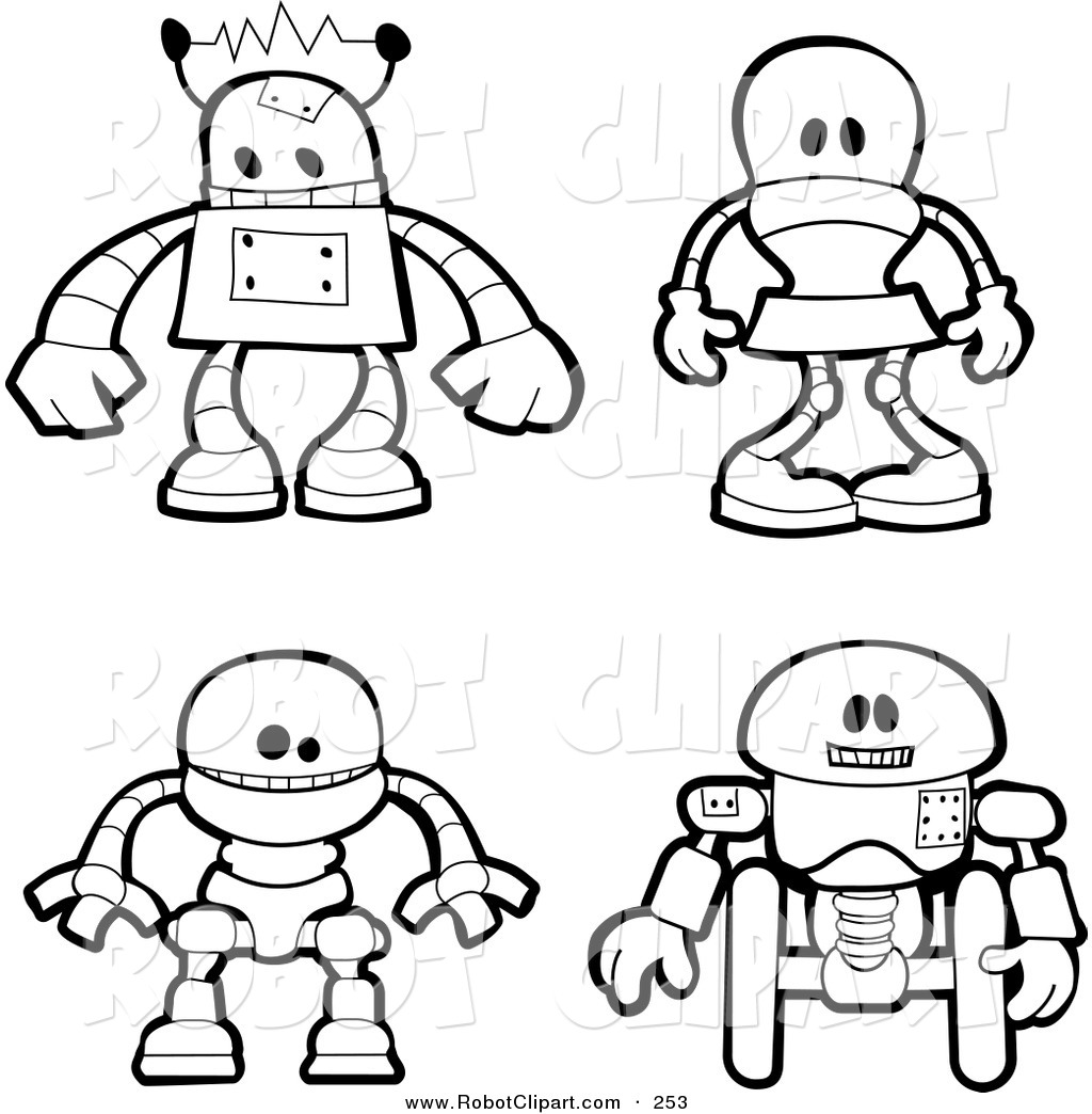 Robot Coloring Pages | Free download best Robot Coloring Pages on ...