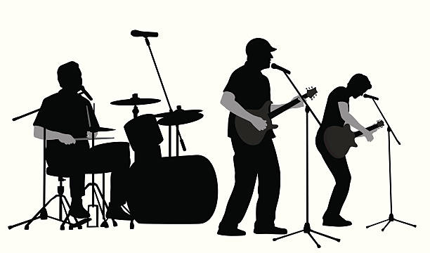Music band. Rock clipart free download