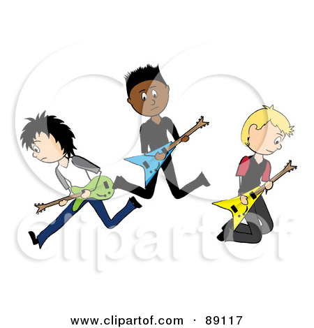 450x470 Band Rock Band Clipart 1868690