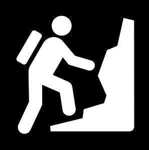 Rock Climber Clipart