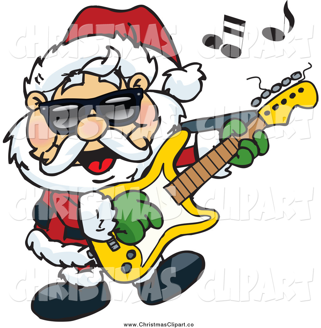1024x1044 Rock And Roll Christmas Clip Art