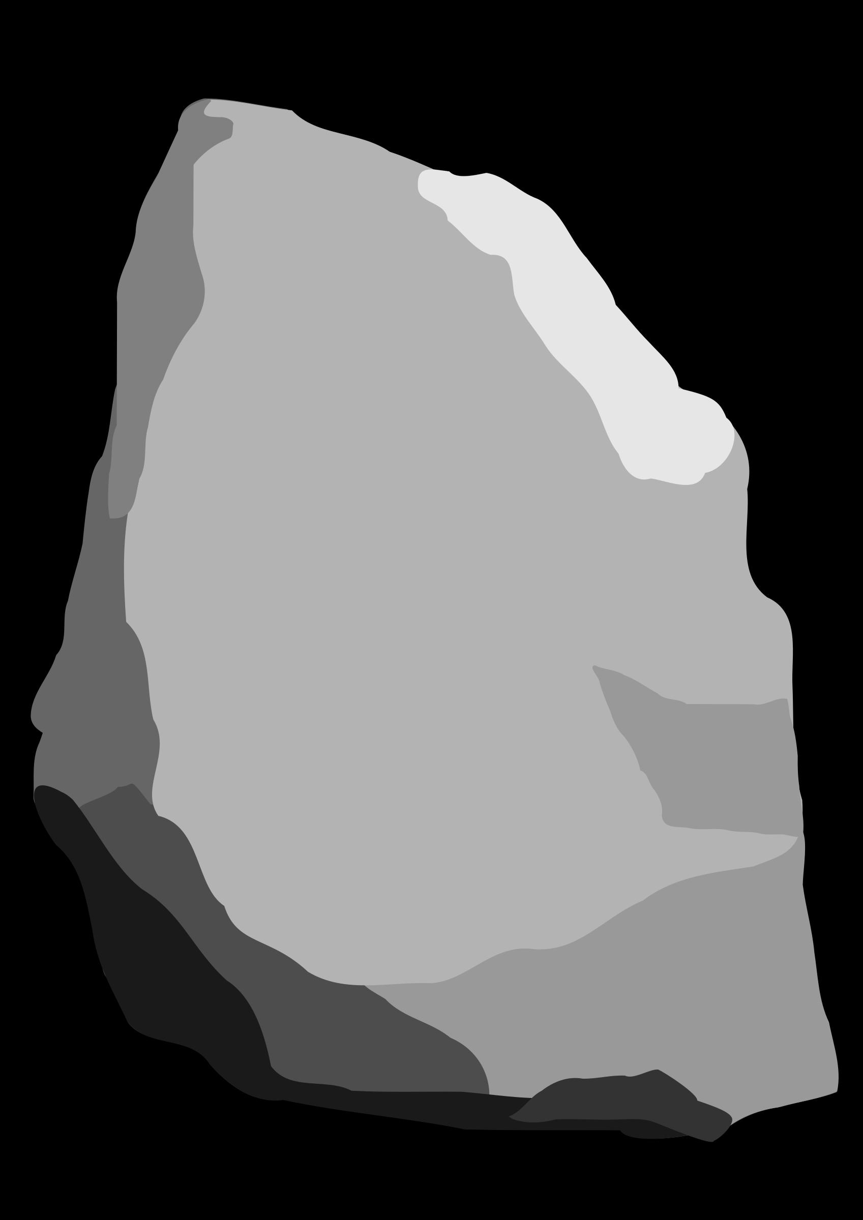 1697x2400 Stone clipart
