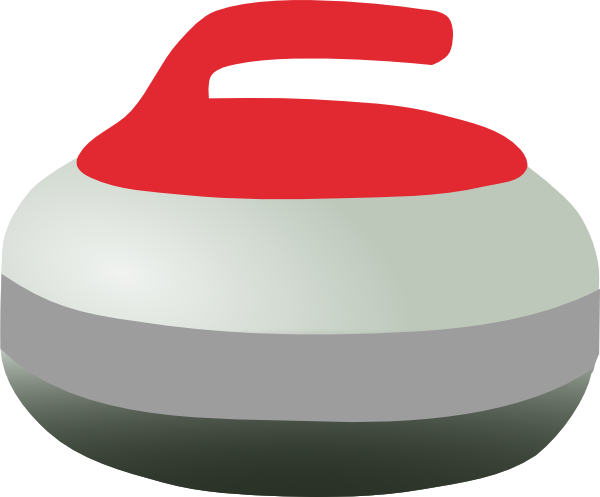 600x497 Curling Rock Clip Art