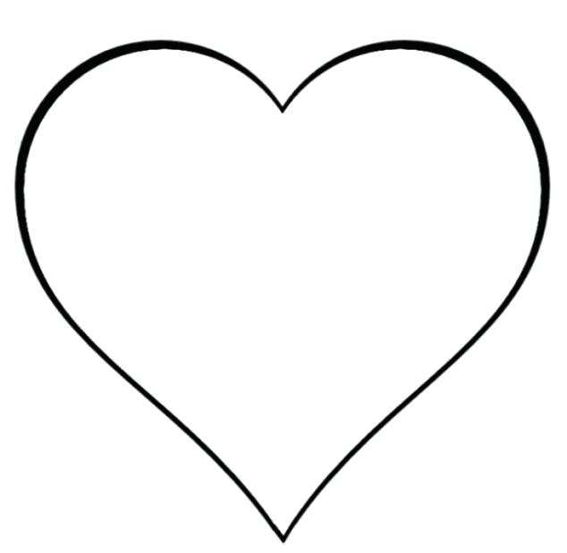 634x619 Clipart Heart Heart Border Black And White For Heart Border Black