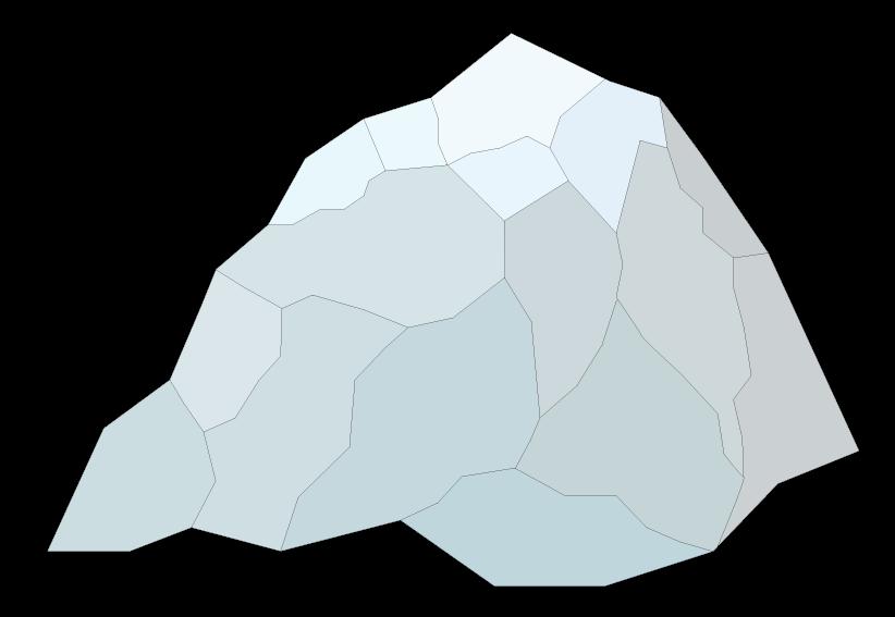 822x567 Double Rock 2 Clip Art Vector Free Image