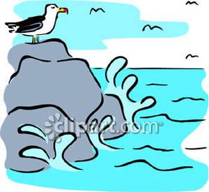 300x275 Sea Clipart Sea Rock