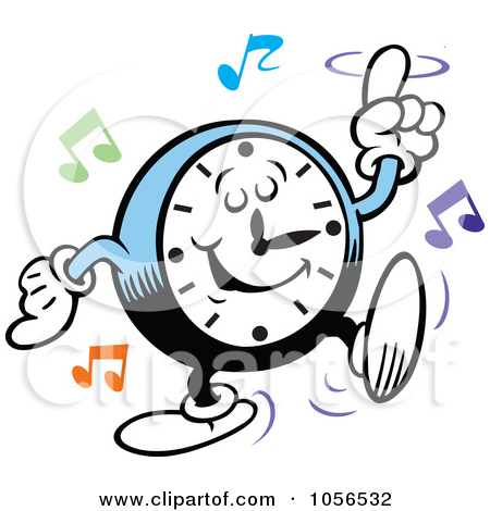 450x470 Rock Around The Clock Clipart