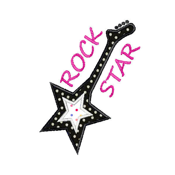 600x602 Rock Star Clip Art