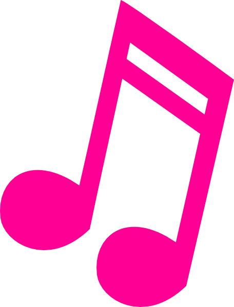 456x599 Guitar Clipart Hot Pink