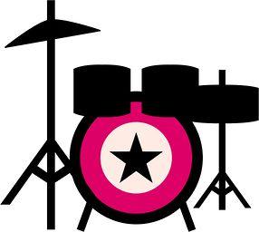286x256 Music clipart rockstar