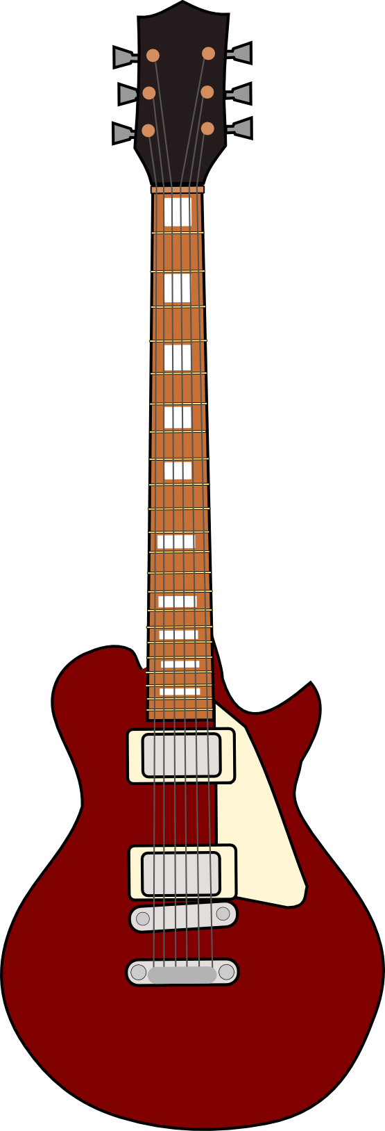 555x1628 Acoustic guitar clip art clipart clipartix 2